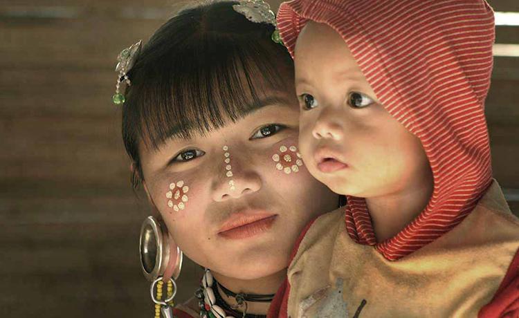 中国的拉祜族