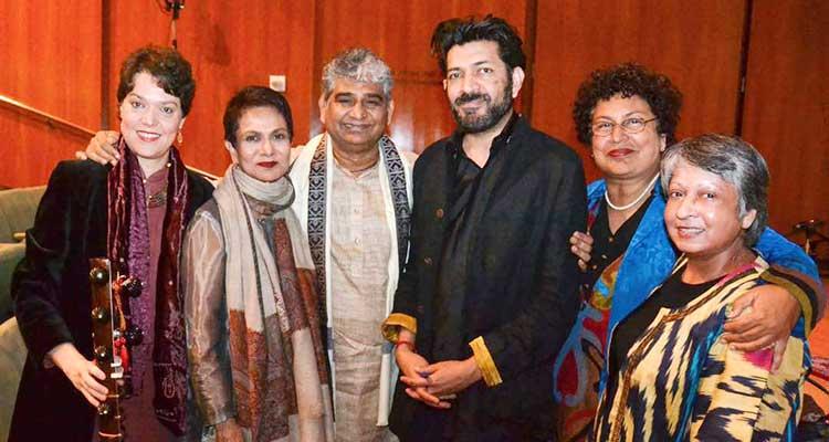 LLF New York 2017: Judit, Dr. Azra Raza, Ikhlaq Hussain, Dr. Siddhartha Mukherjee, Durdana Rizvi and Zeba Hyder