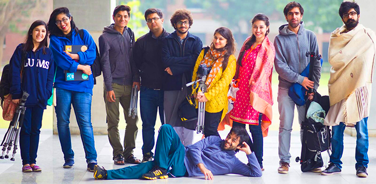 The team behind 'Mabel aur Mein' - LUMS Short Film 'Mabel aur Mein'