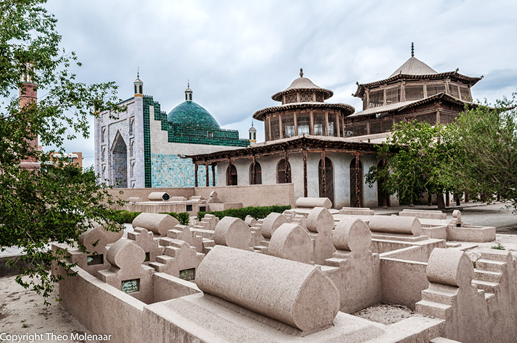 Mausoleums of Hami Uyghur Royal Family - Mausoleums of the Uyghur Noble Family in Hami, Xinjiang