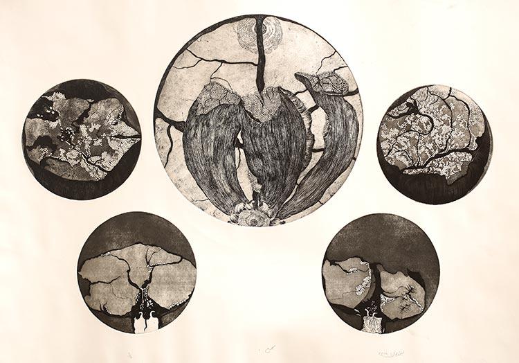 Art Review: Meem Mashriq, Meem Maghrib by Laila Rahman at