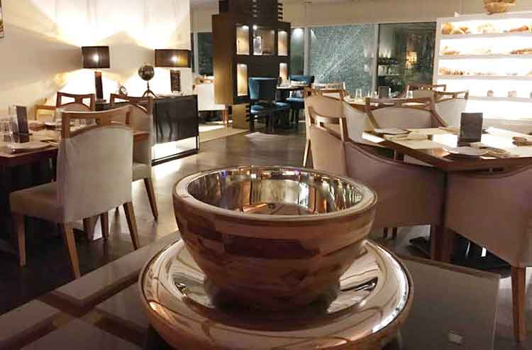 The elegant interior - Meraki Restaurant, Islamabad Food