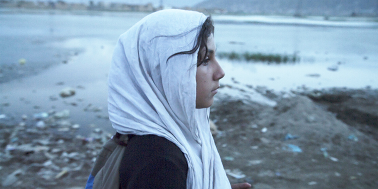 Farzana Nawabi as Mina - 'Mina Walking' at FACE Film Festival 2016, PNCA Islamabad