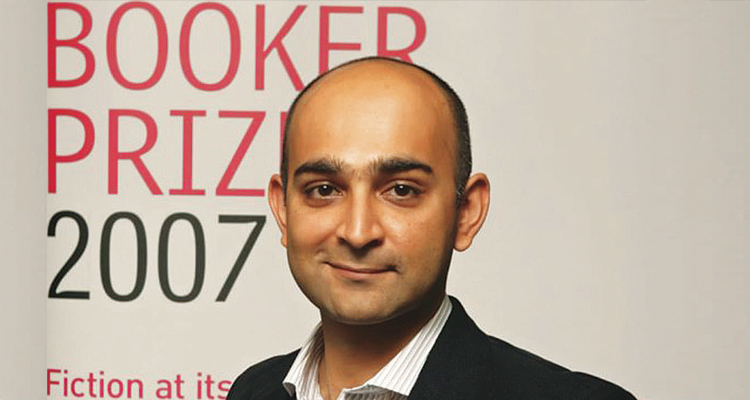 Mohsin Hamid at the announcement of the Booker Prize Shortlist in 2007 (source: herald.dawn.com) - Mohsin Hamid