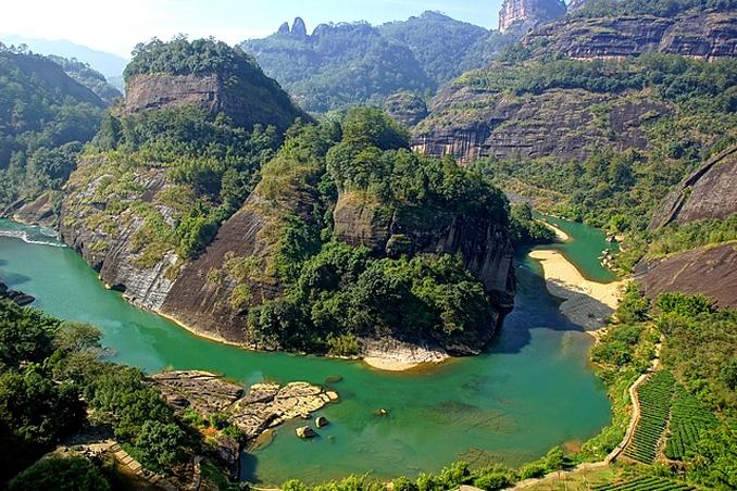 Mount Wuyi, china - Mount Wuyi