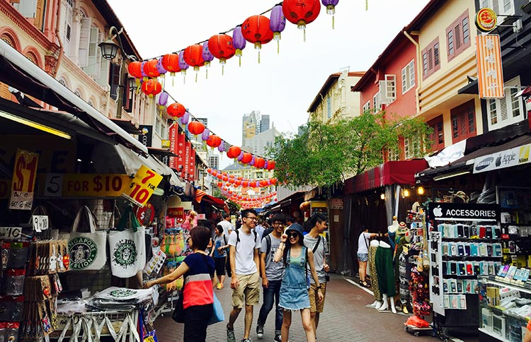 Pagoda Street in daylight - Multi-Ethnic Singapore