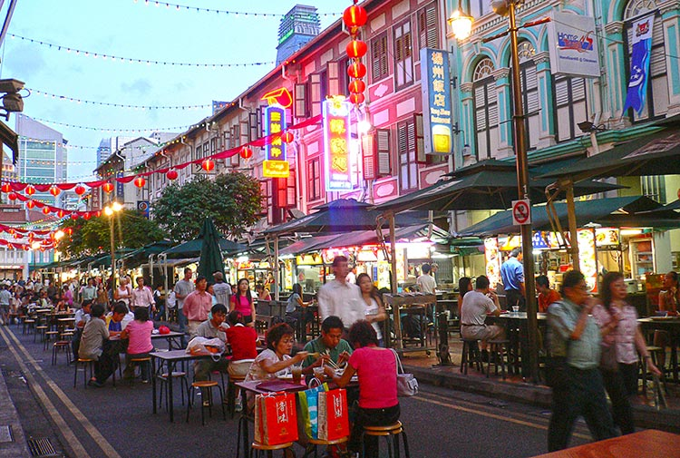 Chinatown Food Street - Multi-Ethnic Singapore