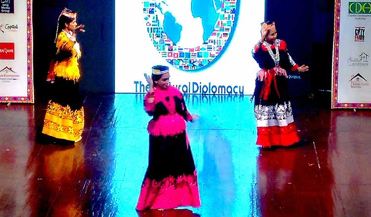 Kalash dance performance by Lok Virsa - Multicultural Exhibition at PNCA, Islamabad