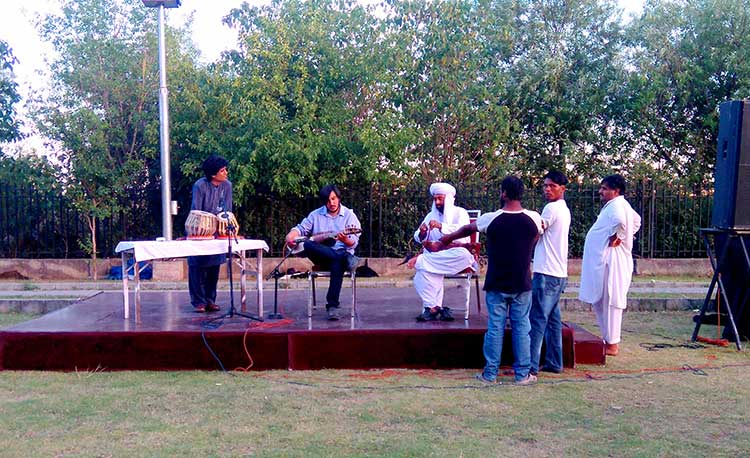 Melodious traditional music performance by Lok Virsa - Multicultural Exhibition at PNCA, Islamabad