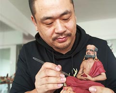 Na Dinghao: Making Dough Models of Xinjiang