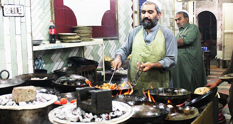 Dum Pukht and Mutton Karahi - Namak Mandi Peshawar
