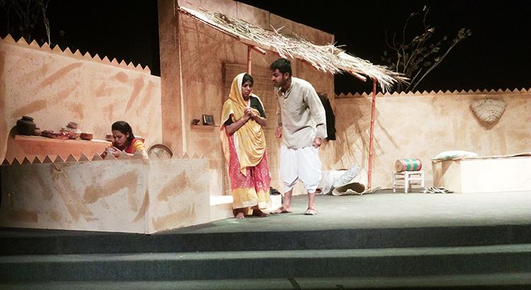 Champa, Lakhsmi and Sakha Ram - NAPA Young Directors Theatre Festival 2015: Play 'Sakha Ram Binder'