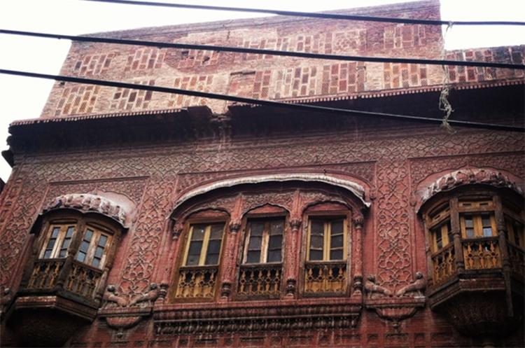 Exterior of Nau Nihal Singh Haveli - Nau Nihal Singh Haveli, Lahore