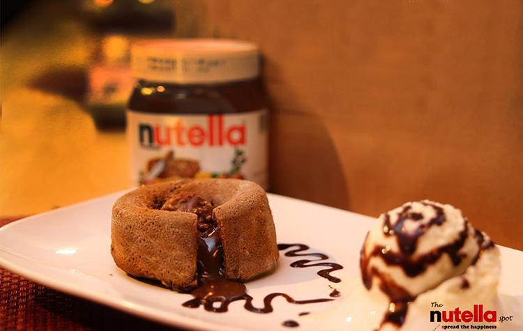 Nutella Lava Cake - Nutella Spot, F-11 Markaz, Islamabad