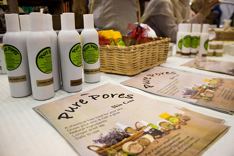 Pure Pores, natural skin-care products for sensitive skin