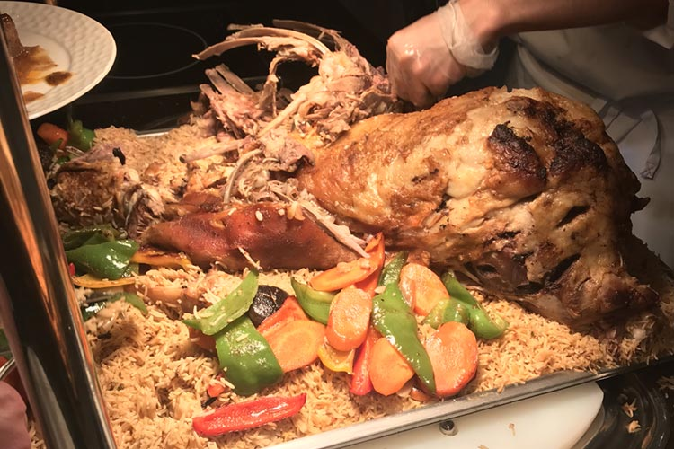 Lamb Roast with Afghan Pulao - Pakistan Food Extravaganza in Beijing