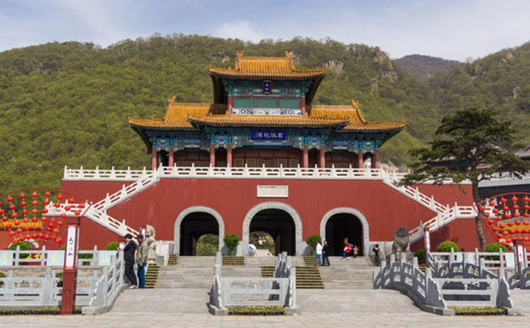 The first gate of Mt. Panshan