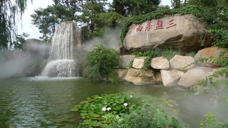 San Pan Bathing Valley on Mt. Panshan (Source, Panaramio)