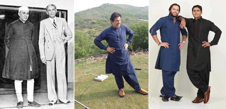 Celebrities in Peshawari Chappals (L-R): Jawaharlal Nehru, Imran Khan, Shahid Afridi and Abdul Razzaq - Peshawari Chappal of Jahangirpura Bazaar, Peshawar