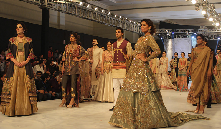 Shiza Hasan collection - PFDC L'Oreal Bridal Week: Day 2