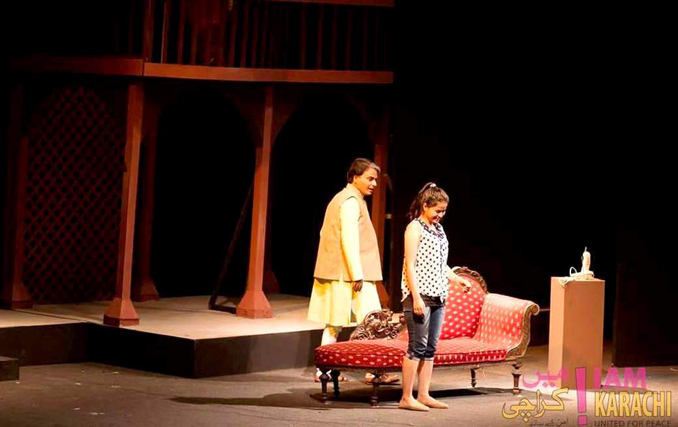 'Daddy' - A story of love and devotion - Play Daddy at NAPA international Theatre Festival 2015 Karachi