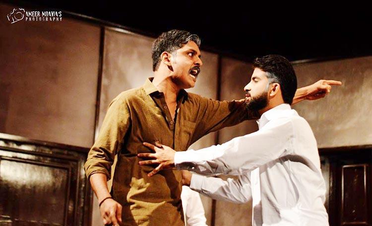 Juror 10 and Juror 11 - Play Mulzim Ya Mujrim at Karachi Art Council