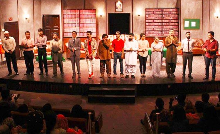 Team Mulzim Ya Mujrim - Play Mulzim Ya Mujrim at Karachi Art Council
