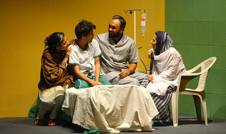 The Rizvi family united in Gulzar's sickness (images provided by Chromium Media Studio) - Play Suno by Taskeen