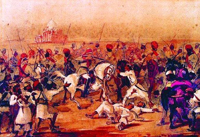 1857, fighting around Delhi - Book Review: Delhi by Heart, by Raza Rumi (Harper Collins: India, 2013)