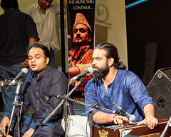 Reference for Amjad Sabri at Lok Virsa, Islamabad