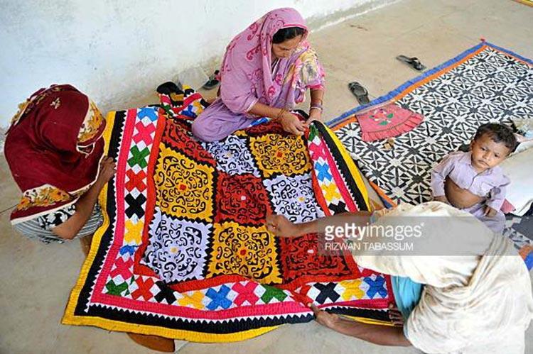 Handmade Ralli (Sindhi quilt) - Restoring Linguistic Heritage of Pakistan