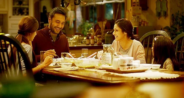 Adnan Siddiqui as Anand Sabarwal and Sridevi Kapoor as Devki Sabarwal - Review of Bollywood Film Mom