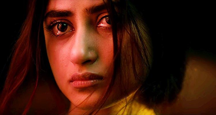 Sajal Ali as Arya Sabarwal - Review of Bollywood Film Mom