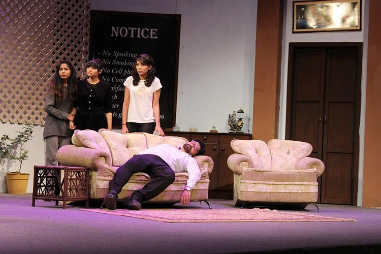 Review of NAPA Theatre Spy Games - (L - R) Mehreen, Rosy, Mahrukh and Rathore