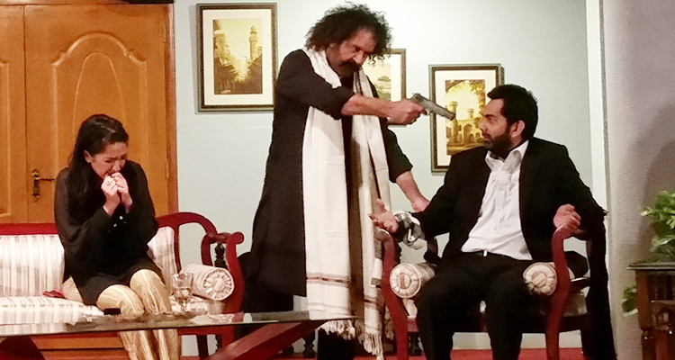 The play features memorable performances by Ayub Khoso, Zara Tareen and Adil Murad - Sajid Hasan's Play 'Chiragh Bali'
