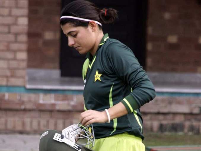 Captain Sana Mir Leading Womens Cricket In Pakistan