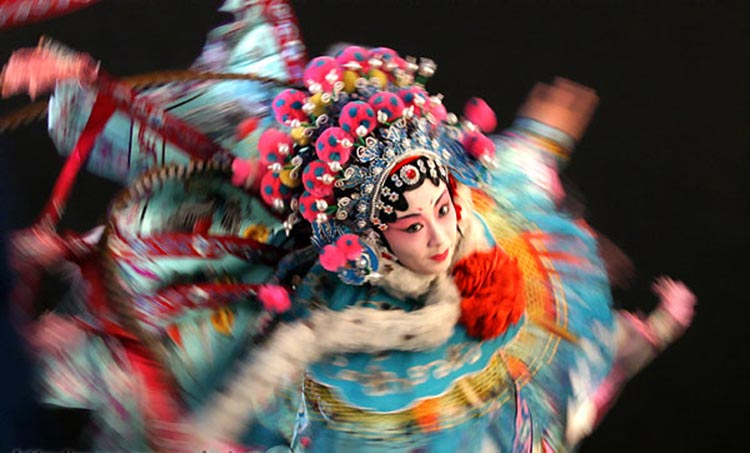 Madame Ping Sun, a Peking Opera Performer (source: Chapman University) - Saving the Classics: Oral History Project of Peking Opera Artists