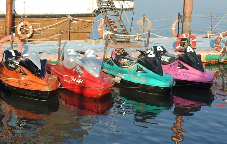 Jet Skis at Savor Boating and Restaurant, Karachi