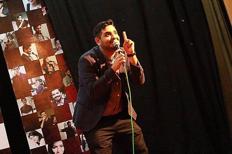 Shehzad Ghias Shaikh - SGS and Friends Stand up Comedy Festival