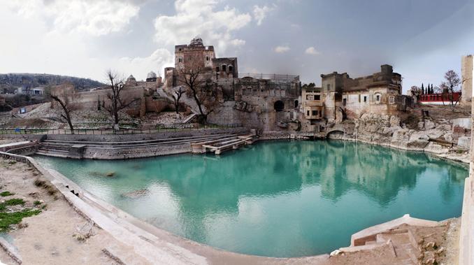 KatasRaj Temple - Silk Road: Salt Range and the KatasRaj Temple