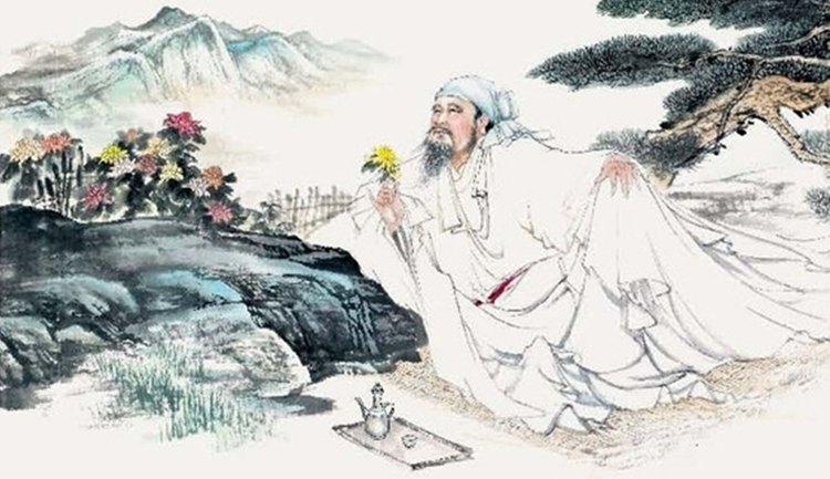 Tao Yuanming was one of China's most famous nature poets who abandoned court life to work on his farm (Image by baike) - Tao Yuanming and His Idyll