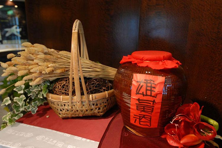 Realgar Wine - The Chinese Dragon Boat Festival in Foreign Countries