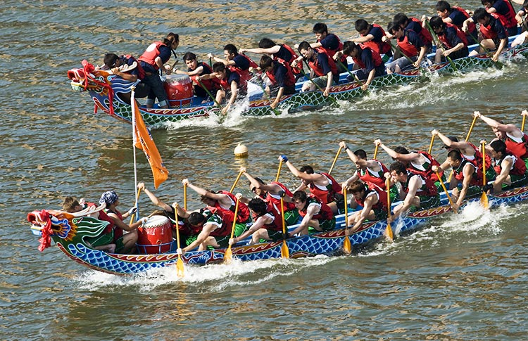 The Chinese Dragon Boat Festival in Foreign Countries