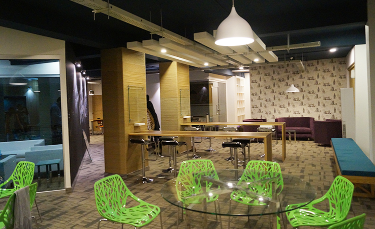 Interior of 'The Hive' - The Hive: A Co-working Space in Islamabad