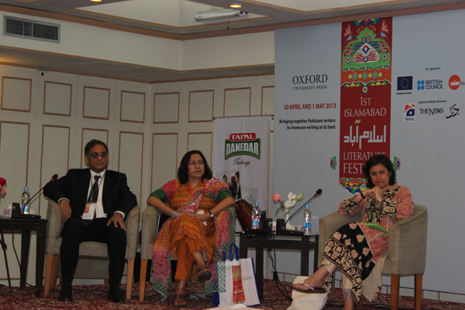 Opening ceremony with Asif Farrukhi, Ameena Saiyid and Kamila Shamsie - THE LEGACY OF LITERATURE COMES ALIVE AT ILF- PART II
