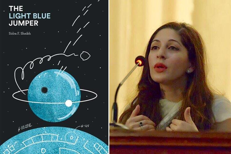 'The Light Blue Jumper' by Sidra Fatima Sheikh - The Light Blue Jumper: A Pakistani Sci-fi Novel