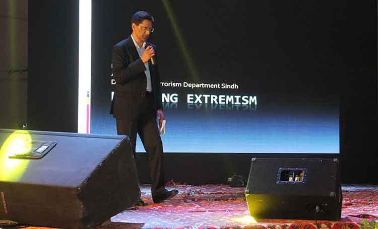 'Policing Extremism' by DIG Aamir Farooqui - The Narrative - Karachi Calling at IBA