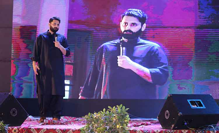 Jibran Nasir on 'The Ghettoization of Karachi' at IBA - The Narrative Karachi Calling at IBA