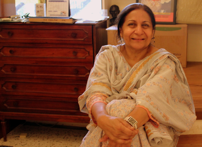 Tony (Riffat Moin) - Khaas: The Lady behind its Culinary Success