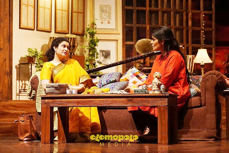 Sania Saeed as Zoay and Nimra Bucha as Sophiya - Theatre Mushk - Fragrance